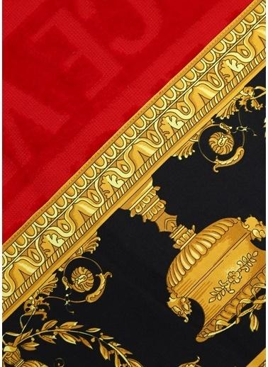 Versace Havlu Kırmızı